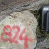 20181116_escalara_esc-23  9999 off scale for the scintillometer at historical rock small location esc-26 6812 ppm u